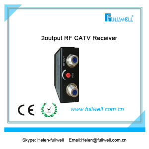 FTTH Mini Optical Receiver / Optical Nodes with Filter Function pictures & photos