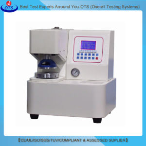 LCD Touchscreen Cardboard Bursting Strength Testing Instrument pictures & photos