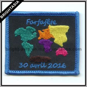 Special Thread Embroidery Badge for Customize Patch (BYH-101150) pictures & photos