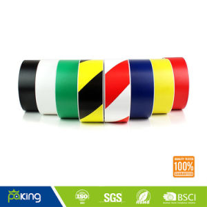 Double Colors (yellow/ black) PVC Warning Tape for Warning Steps pictures & photos