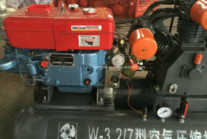 Kaishan W-3.2/7 25HP 7bar High Pressure Diesel Driven Air Compressor pictures & photos