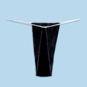 Disposable Bikinis for Waxing Black Different Sizes pictures & photos