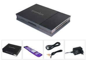 Ipremium Amlogical S905 Satellite Receiver Combo S2 TV Box with S2/T2/Isdbt pictures & photos
