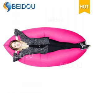 Popular Banana Inflatable Air Bed Sofa Sleeping Bag Lazy Bag