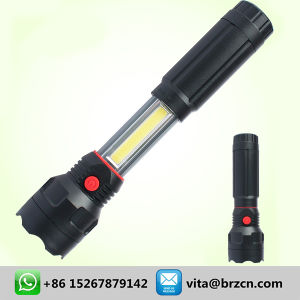 COB Plastic Flashlight LED Working Light pictures & photos
