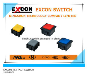 Tact Switch Ts3 Series with Lamp and Mini Size Switch