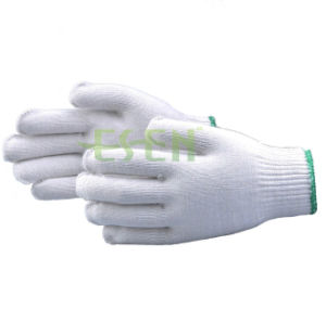 MID-East Hot Sale 55g 10 Gauge Made Knitted Cotton Gloves Working Gloves pictures & photos