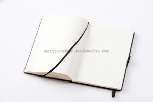 Wholesale Customize PU Leather Hardcover Notebook with Window pictures & photos