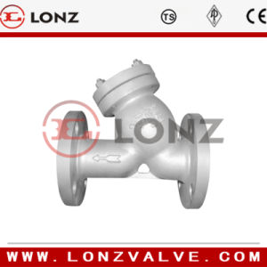 Screw End Cast Steel Y Strainer pictures & photos