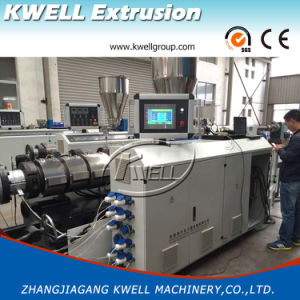 PVC/UPVC Plastic Pipe Extrusion Line Water Pipe Production Machine & China PVC/UPVC Plastic Pipe Extrusion Line Water Pipe Production ...
