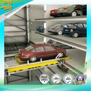 Car Horizontal Shifting Parking Lift pictures & photos