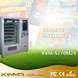 "9columns Socks Vending Machine Operated by Mdb with 23.6"" Advertisement Screen pictures & photos"