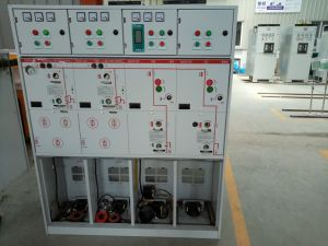 Sf6 Compact Co-Cabinet 12kv 630A Gas Insulated Switchgear