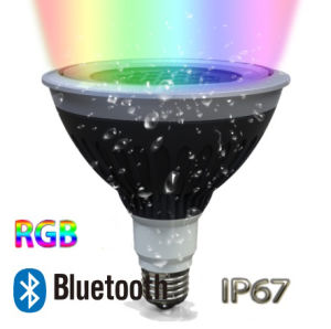 LED Bluetooth RGB PAR38 IP67 Outdoor Landscape Spotlight