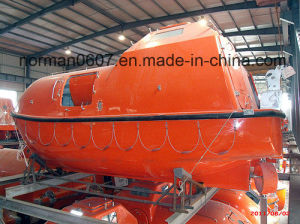 Solas 7m Marine Lifeboat, Totally Enclosed Lifesaving Boat, Life Boat pictures & photos