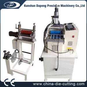 Hot& Cold Pneumatic Leather Belt Cutting Machine pictures & photos