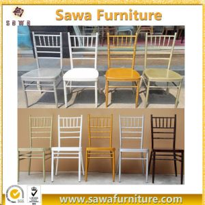 Cheap Metal Chiavari Chairs Wedding Banquet Rental Chairs pictures & photos