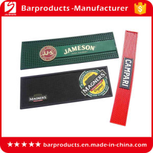 Eco-Friendly Custom Logo Soft PVC Bar Runner