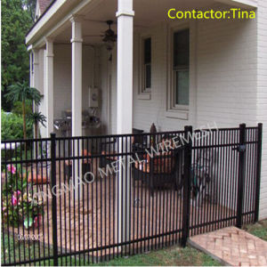 High-Performance Steel Security Fence/Ornamental Wrought Iron Fencing (XM3-25) pictures & photos