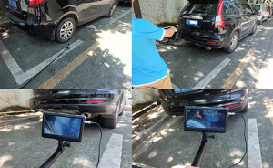 1080P Full HD Mini Digital Under Vehicle Inspection Camera DVR System with Telescopic Pole pictures & photos