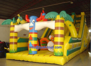 Safe Inflatable Slide with Certificate (B009)