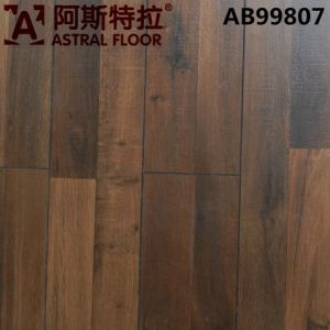 High Quality HDF 12mm Rotten Wood Grain Surface Laminate Flooring (AB99807) pictures & photos