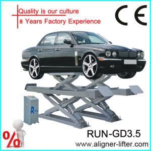 4d3a6568549 China 3.5t Lifting Platform with CE - China Scissor Car Lift ...