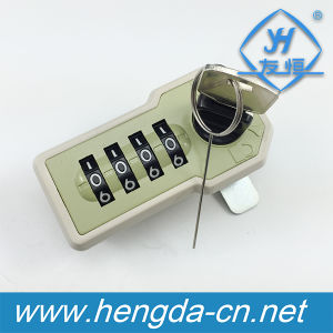 Furniture Combination Lock Plastic Password Cabinet Lock (YH9038) pictures & photos
