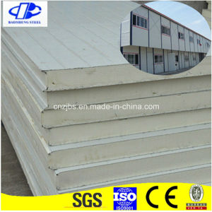 Heat-Insulated Decoration Steel Sheet PU Polyurethane Foam Sandwich Panel pictures & photos