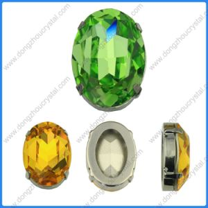 Fancy Crystal Glass Beads Stones Teardrop Jewelry Beads pictures & photos