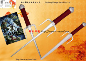 China Wholesale-Ninja Turtles Raphael Weapon Sai Real