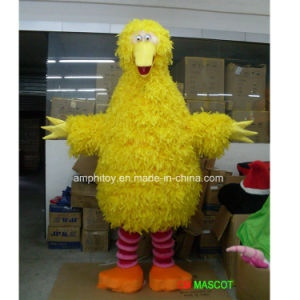 Best Sale Big Yellow Bird Animal Mascot Costume for Party