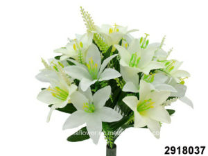 Artificial/Plastic/Silk Flower Lily Bush (2918037) pictures & photos