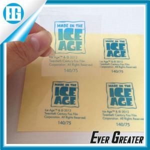 custom clear vinyl sticker clear stickers die cut window sticker custom die cut pvc sticker - Custom Clear Stickers