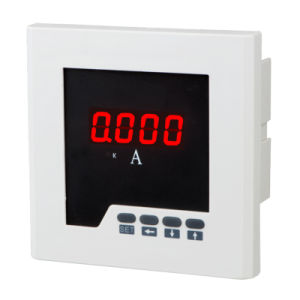 Size 72*72mm Factory Price Single-Phase LED Display AC Digital Ampere Meter, for Industrial Use pictures & photos