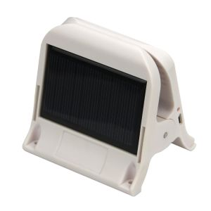 Compact Mini Portable Solar Power Lamp USB Rechargeable Clip Light pictures & photos