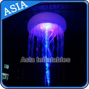 Hanging Inflatable Light Jellyfish for Wedding Decoration pictures & photos