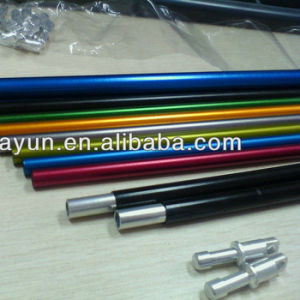 Aluminum Pipe Anodized Surface Ending Parts pictures & photos
