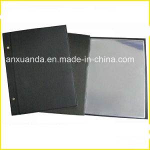 2015 Hot Selling Restaurant Genuine Leather Menu Cover
