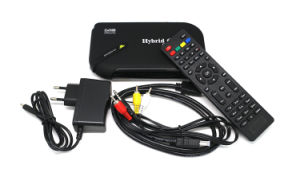 Hybrid 1080P Android TV Box DVB T2