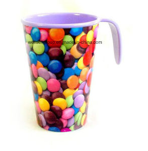 Smarties 100% Melamine Mug with Handle (CPBZ-4031) pictures & photos