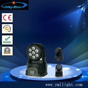 LED Mini Wash Moving Head 7*10W 4in1 pictures & photos