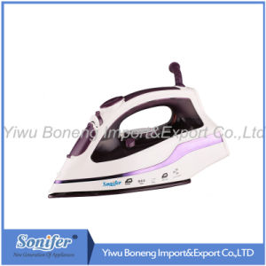 Electric Steam Iron Mi533 Electric Iron with Ceramic Soleplate (Purple)