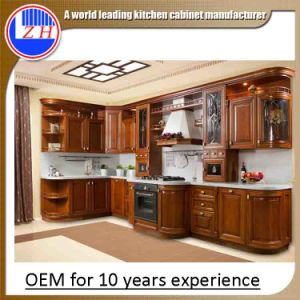 European Style Luxury Kitchen Cabinets for Home Furniture (Old style)
