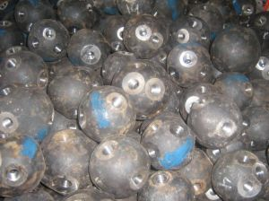 Steel Ball Bolted Node Galvanized Ball for Space Frame
