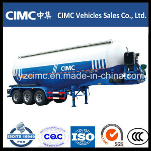 Cimc 3 Axles Bulk Cement Tank Trailer pictures & photos