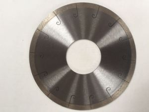 Diamond Saw Blade with Laser Slot of Cutting Ceramic