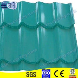 Blue Prepainted Galvanized Steel Glazed Tiles pictures & photos