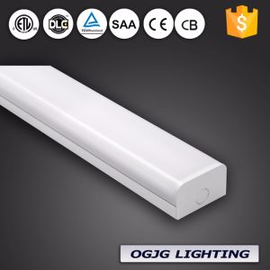 Milk White Cover Hanging Pendant Surface Mounted Office Linear Lighting Fixture Motion Sensor Led Light