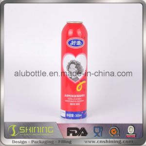Empty Aluminium Aerosol Can for Food Aluminum Spray Bottle